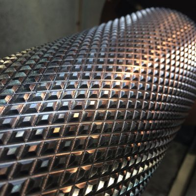 Knurling On A Roller