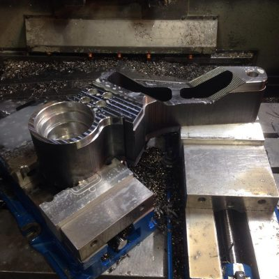 Parts Machined From Burnt Profile