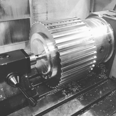 Slotted Roller In The 4th Axis