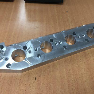 Hillman Imp Inlet Manifold Adaptor Plate